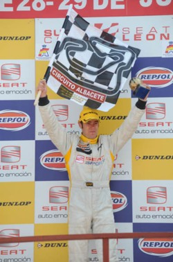 Tom Boardman Albacete Podium